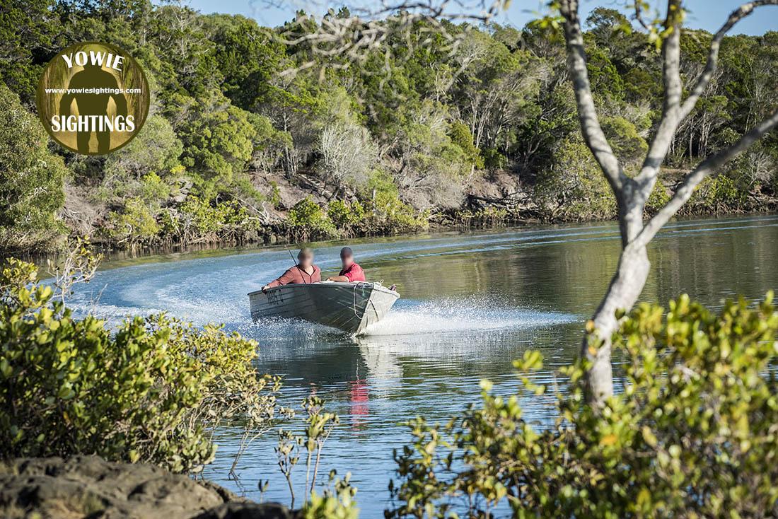 Burrum River Yowie Sighting October 2018